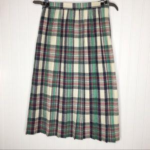 Deans of Scotland 100% New Wool Plaid Skirt 2 ?